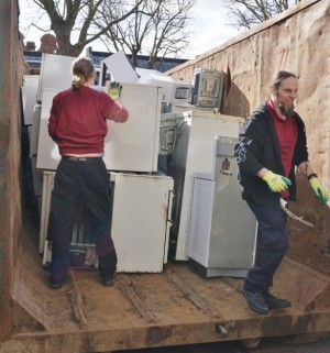 Free electrical waste recycling day in Cambridgeshire