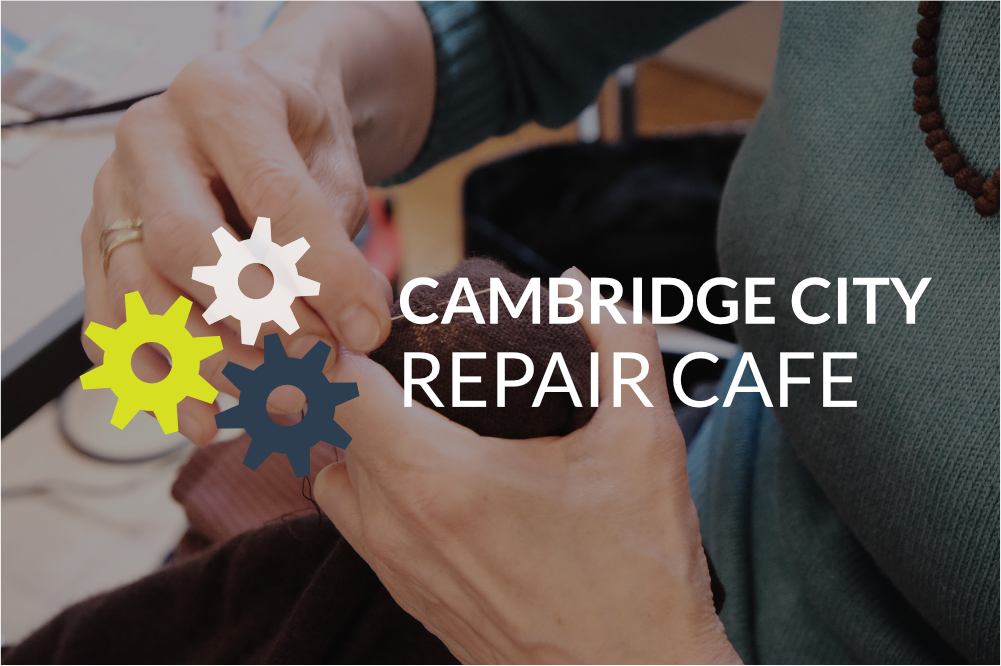 Cambridge Repair Cafe - setting a world record