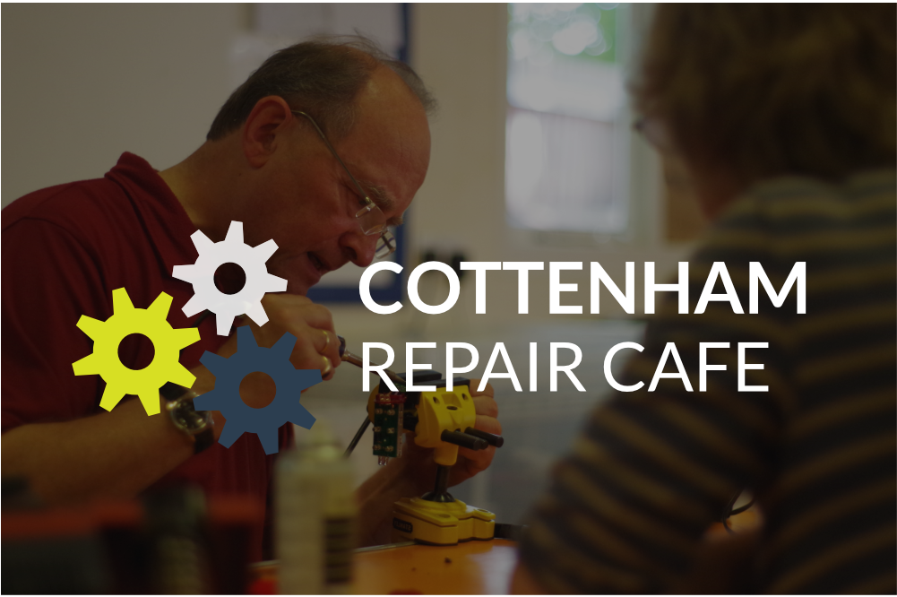 Cottenham Repair Cafe - SORRY, POSTPONED UNTIL FURTHER NOTICE