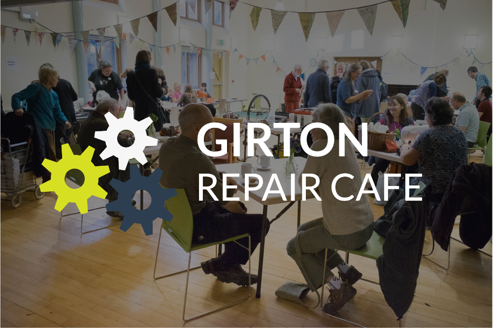 Friends of Girton Glebe Christmas Tree Shredding Event and Repair Café