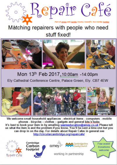 Repair Cafe and Eco Family Funday