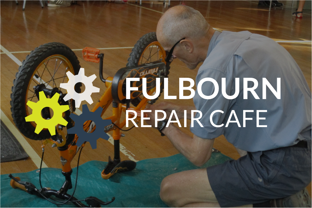 Fulbourn Repair Cafe -SORRY, POSTPONED UNTIL FURTHER NOTICE