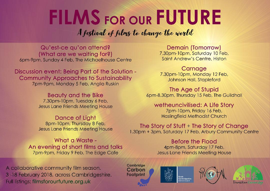 """Films for our Future"" Season"