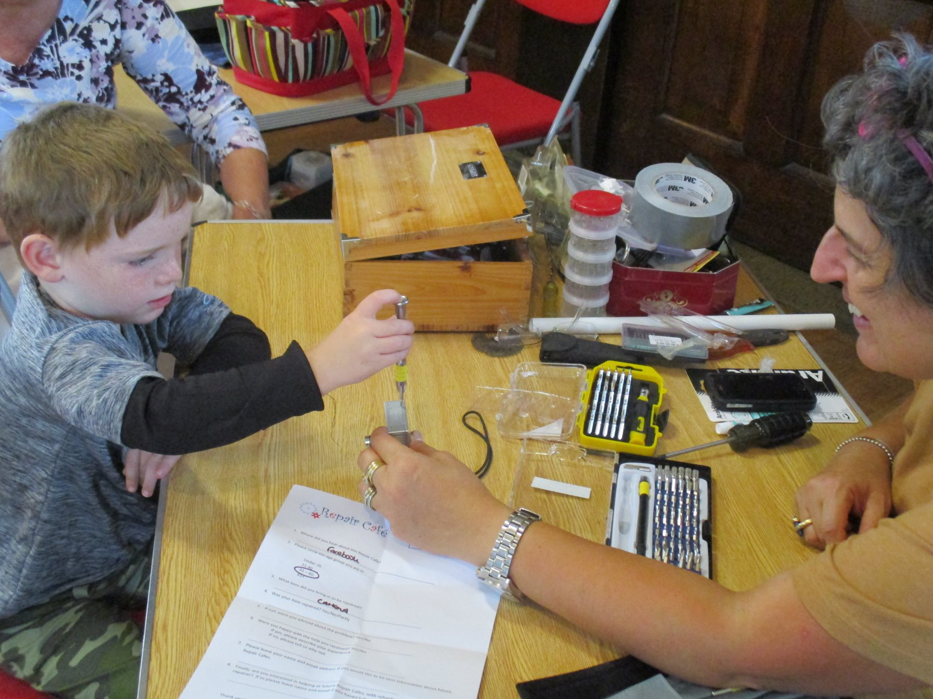 How to organise a Repair Cafe in your community