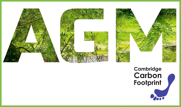 CCF's 2019 AGM and talk by Dr Adam Read: 'The Circular Economy – solutions to overconsumption and the climate crisis'