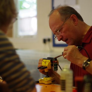 Chris Moller, Cottenham Repair Café