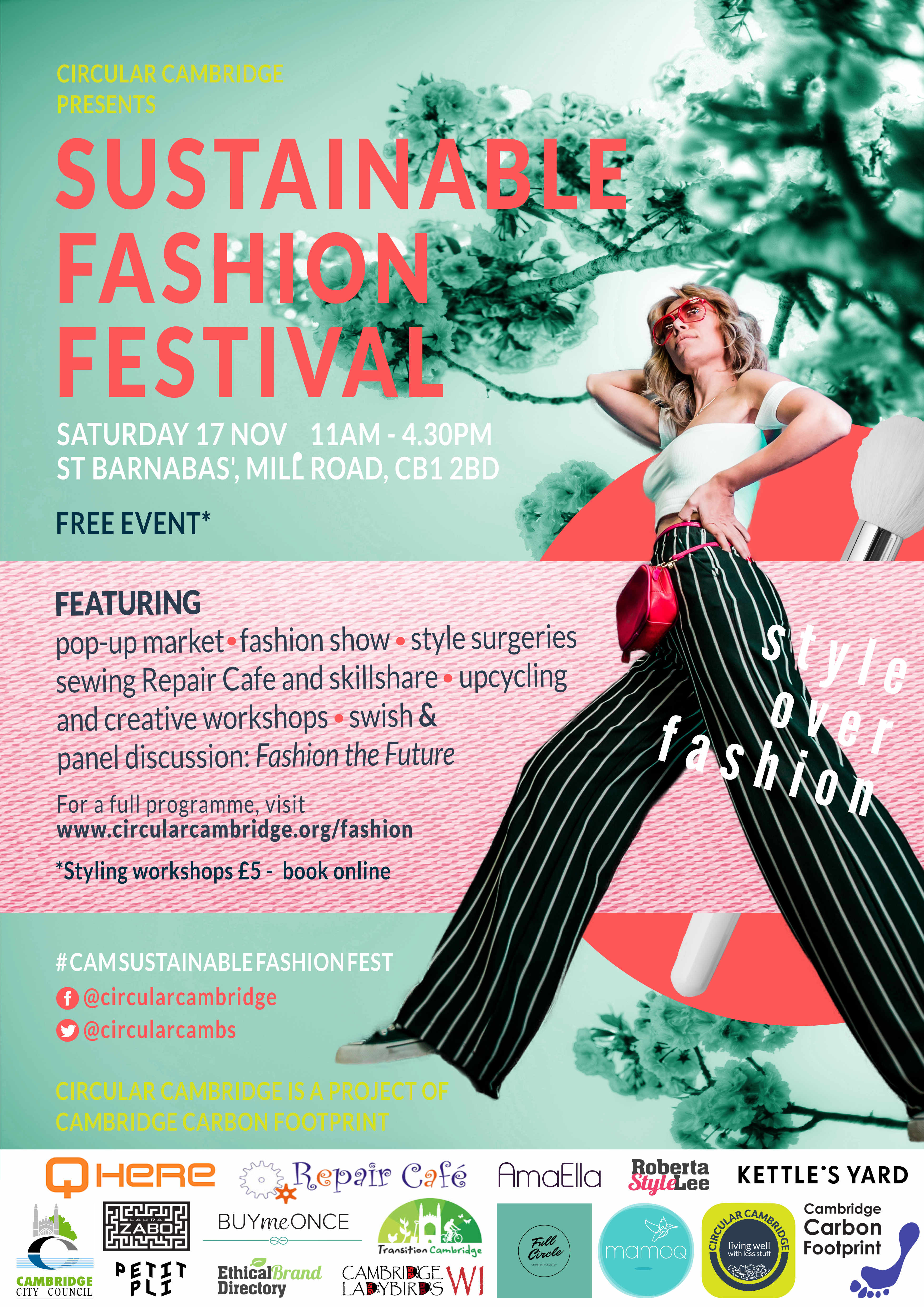 sustainable fashion festival circular cambridge