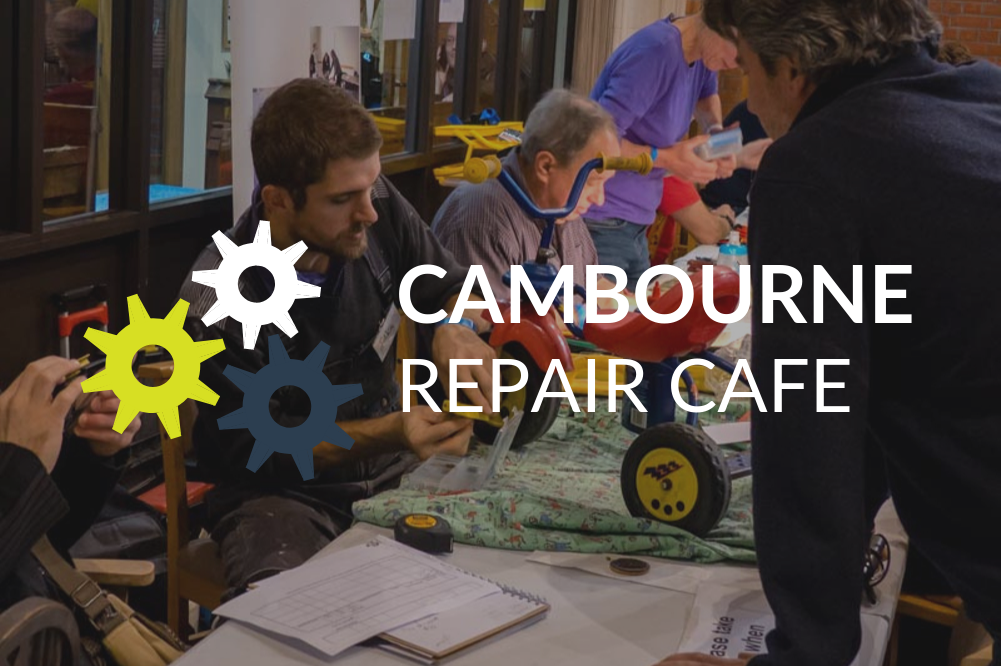 Cambourne's first Repair Cafe