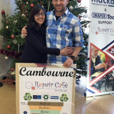 Councillor Greg Thompson, Cambourne Repair Café