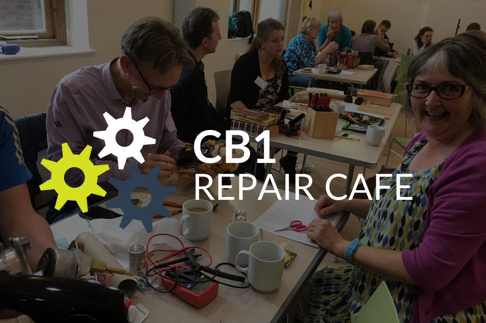 CB1's first Repair Cafe